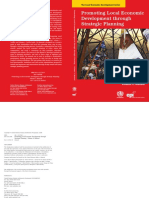 Promoting Local Economic Development through Strategic Planning:The Local Economic Development (LED) series