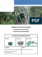 Guidelines for Cultivating Ethiopian Lowland Bamboo