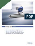 9080 Optimass 7300 Flowmeter Manual