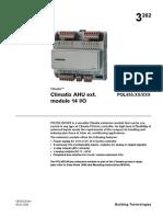 Siemens Climatix IO Module