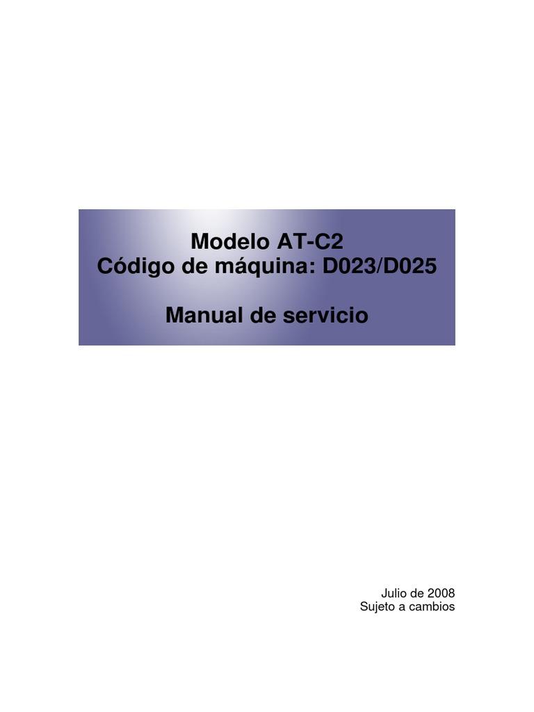 Manual de Servicio Ricoh | Battery (Electricity) | Trademark