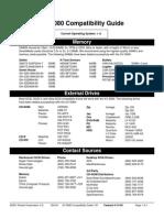 XV5080 Compatibility Guide