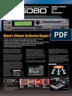 XV 5080 Brochure