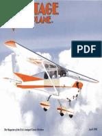 Vintage Airplane - Apr 1995