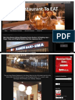 Bari Uma Ramen Jaya Shopping Centre Petaling Jaya Best Restaurant HTML