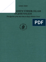 Brill Publishing Christianity Under Islam in Jerusalem, The Question of the Holy Sites in Early Ottoman Times (2001)
