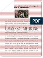 Jane Hansen's series of three short articles published in the Sunday Telegraph against Universal Medicine
