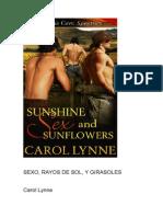 Carol Lynne - Sexo, Rayos de Sol y Girasoles