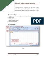 Avi's Excel Intelligency tools for Management