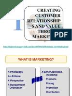 customer reationship