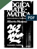 Prototipo de Logica Matematica, Antecedentes y Fundamentos Alberto Moreno Gris 600dpi.pdf