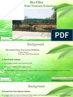 Dairy Waste Water Treatment  By Biofilter