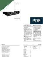 Tc Electronic Impact Twin Manual Italian