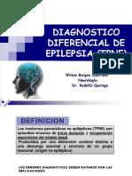 Epilepsia - Diagnositco Diferencial