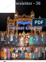 58 ICSI Mysore e-Newsletter November 2008