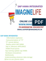 Learn SAP HANA Integrated Online Training in Hyderabad | Bangalore | India - Imaginelife