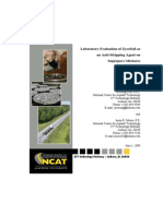Laboratory Evaluation of ZycoSoil as an Anti-Stripping Agent on Superpave Mixtures