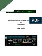 Wavelore Pedal Steel Guitar Help