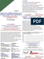 Sudetendeutsche Identität in der 2. und 3. Generation