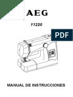 Manual de Maquina de Cocer Zig Zag