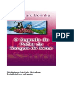 O Segredo Do Poder Do Sangue de Jesus - Reinhard Bonnke
