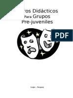 Libreta de Guiones de Teatro