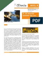 Revista Tecla-Oro en Asturias
