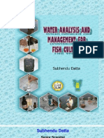 Water Analysis and Management for Fish Culture