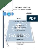 Carpet a Galileo