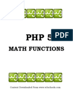 PHP 5 Math Functions