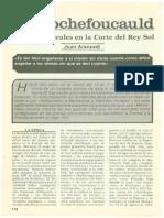 La Roechefoucault - Nota Biográfica