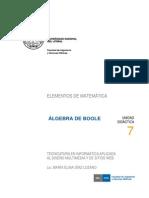 U7 Algebra de Boole