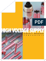 High voltage circuit breaker components