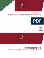 2. Normalización NOM 002 SECRE 2010