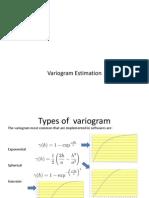 Tips for Variogram Modeling