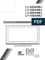 JVC LT-19DA9B LCD Flat TV User Manual