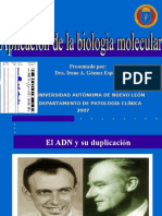 1.5 Aplicacion de la biologia molecular