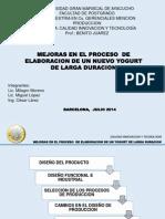 Presentacion Calidad Innovacion Tecnologica Yogurt Larga Duracion 25.07.2014