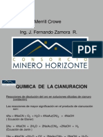 Merrill Crowe Consorcio Minero Horizonte