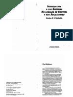 Introduccion a Los Sistemas No Lineales de Control y Sus Aplicaciones (D'Attelis)