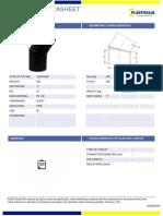 Datasheet DE450 PN10