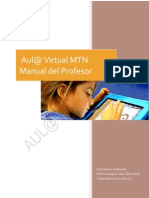 Manual Del Profesor Aul@ Virtual