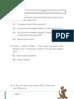 - Equações Do 1.º Grau
