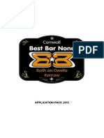 BBN Full Application Kernow 2015