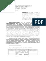 Escrito Libre Para Suspensión de Procedimiento Administrativo de Ejecución Mediante Pago de Créditos Fiscales Que a La Fecha Se Encuentran Firmes.