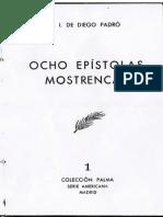 Diego Padró, José Isaac de - Ocho epístolas mostrencas (NIR, 1952)