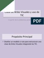 Clase de Artes Visuales y Uso de TIC