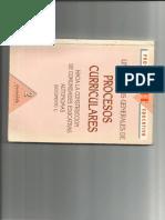 Lineamientos procesos curriculares