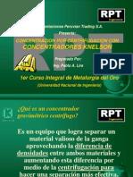 concentracion por centrifugacion con concentradores knelson.ppt