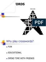 PPT Crossword